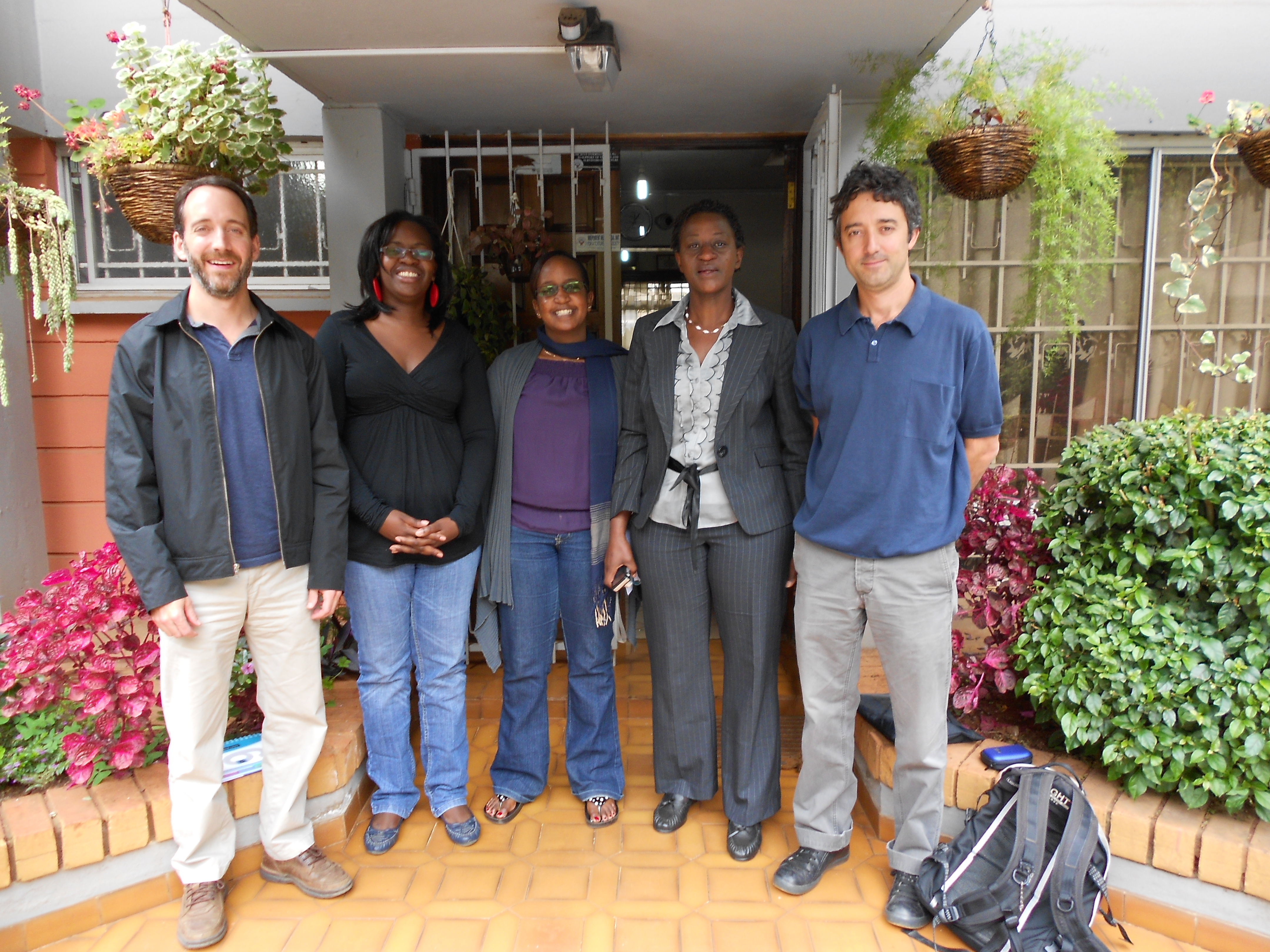 Exploratory team meets with Kenyan HRDs