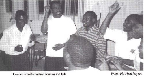 Conflict Transformation Workshop with Local Activists in Haiti