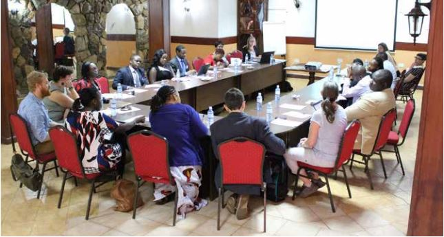 Workshop with exiled HRDs in Nairobi, Kenya
