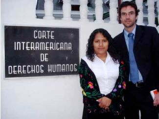 PBI accompanied Valentina Rosendo to her appearance as she provided her statement at the Inter-American Court in San José, Costa Rica