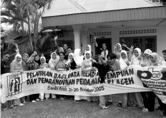 Training of Trainers Organised by PBI with Flower Aceh on Women and Peace Building