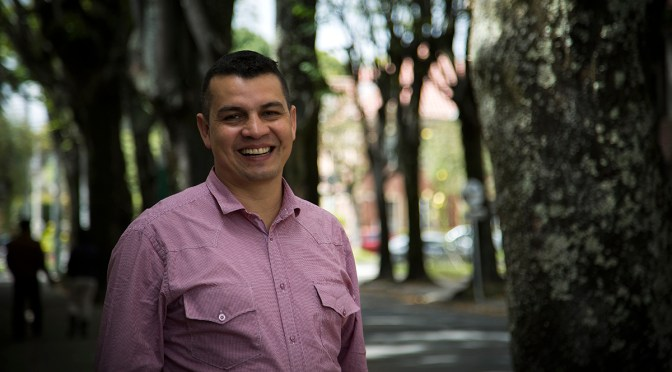 Fabian Laverde of COS-PACC
